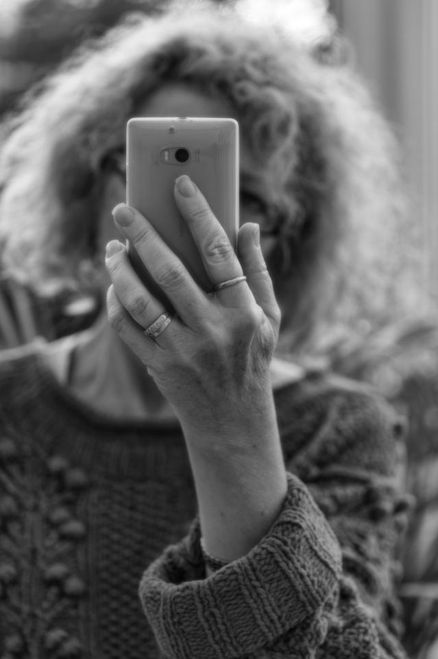 Mono Monday: Selfie