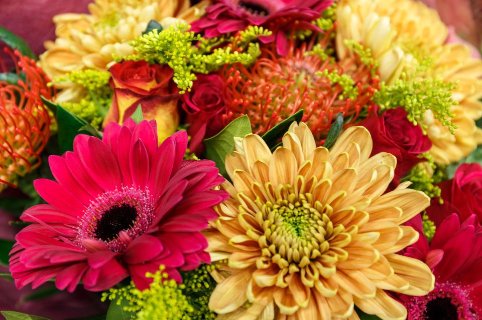 Emergency M&S flowers blip